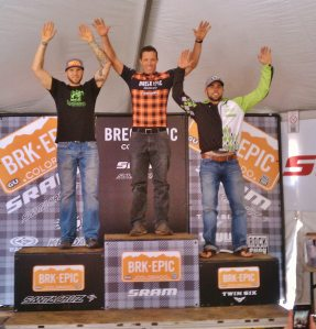 Stage 3 podium - 2nd again and still 2nd overall